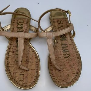 Sam & Libby Thong Sandals Size 10
